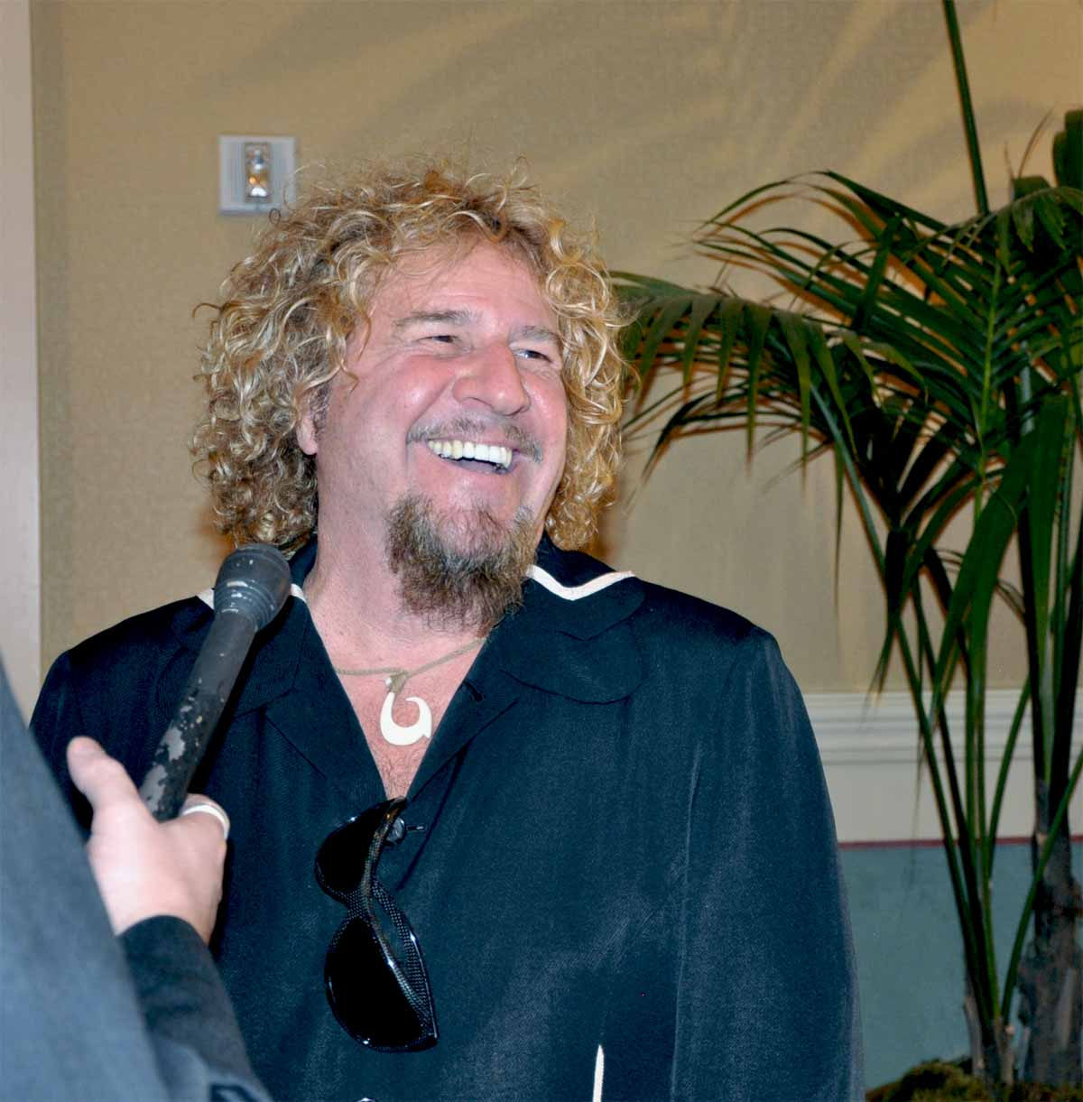 Metal Meets Leather Sammy Hagar